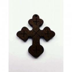 Cruz calada madera 45 x 33 mm