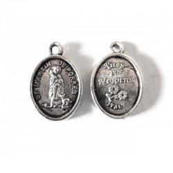 Medalla ovalada San Martin...