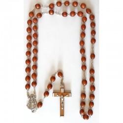 Rosario madera Virgen del...