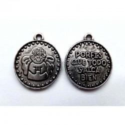 """Colgante medalla """"Porfis..."""