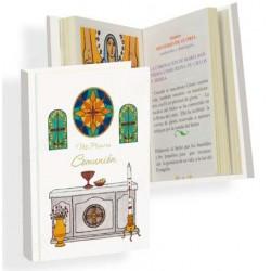 Medalla Virgen/Sagrado Corazón 10 x 7 mm (1 unidad)